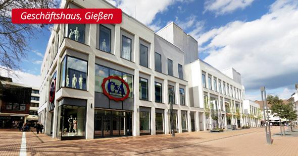 Geschaftshaus, Gießen - P&L Profi-Schweiss, s.r.o