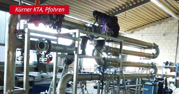 Kürner - KTA, Pfohren - P&L Profi-Schweiss, s.r.o