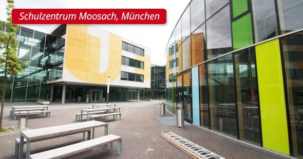 Schulzentrum Moosach, München - P&L Profi-Schweiss, s.r.o