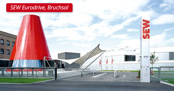 SEW Eurodrive, Bruchsal - P&L Profi-Schweiss s.r.o