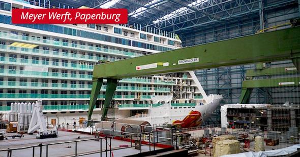 Meyer Werft, Papenburg - P&L Profi-Schweiss, s.r.o