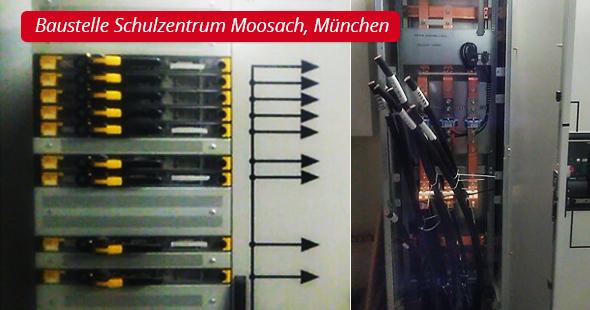 Baustelle Schulzentrum Moosach, München