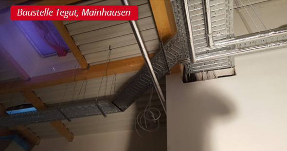 Baustelle Tegut, Mainhausen