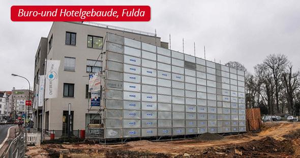 Buro-und Hotelgebaude, Fulda - P&L Profi-Schweiss, s.r.o.