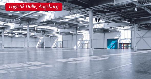 Logistik Halle, Augsburg - P&L Profi-Schweiss, s.r.o.