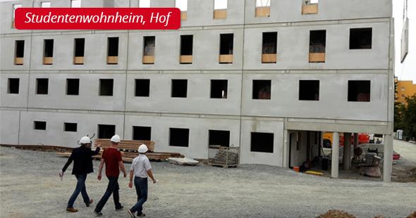 Studentenwohnheim, Hof - P&L Profi-Schweiss, s.r.o.
